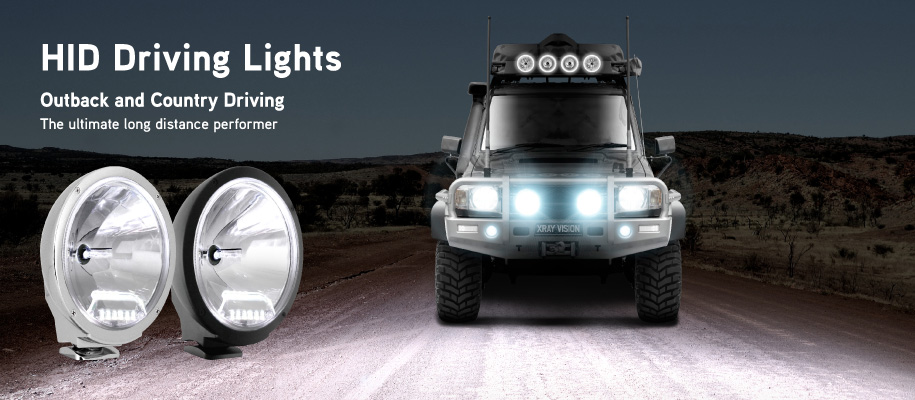 Xray Vision HID Driving Lights