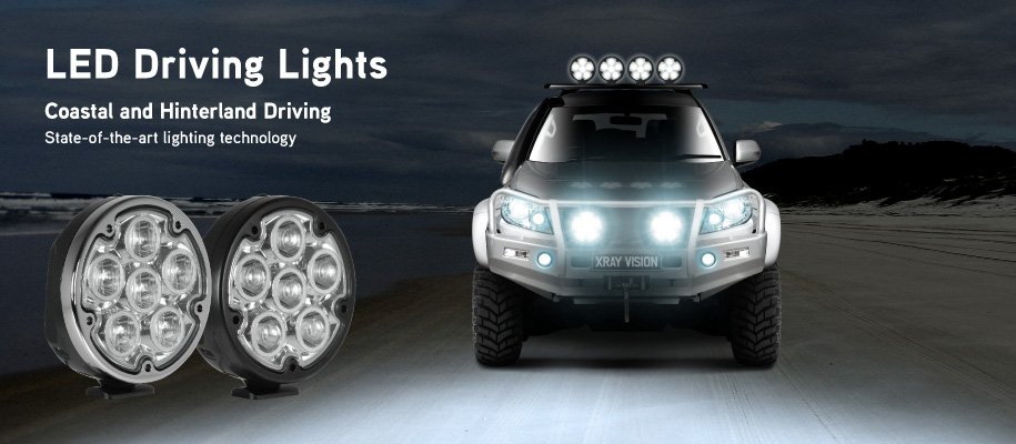 Xray Vision LED Driving Lights