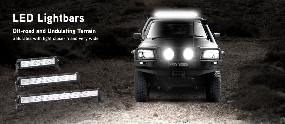Xray Vision Off-road LED Lightbars