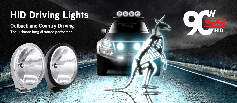 Xray Vision HID Driving Lights Promo Slide