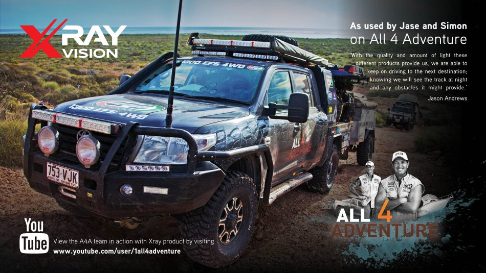 Xray Vision will make its debut at SEMA with a special appearance by Jase Andrews, host of Australia's All 4 Adventure series.