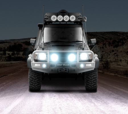 HID Driving Lights